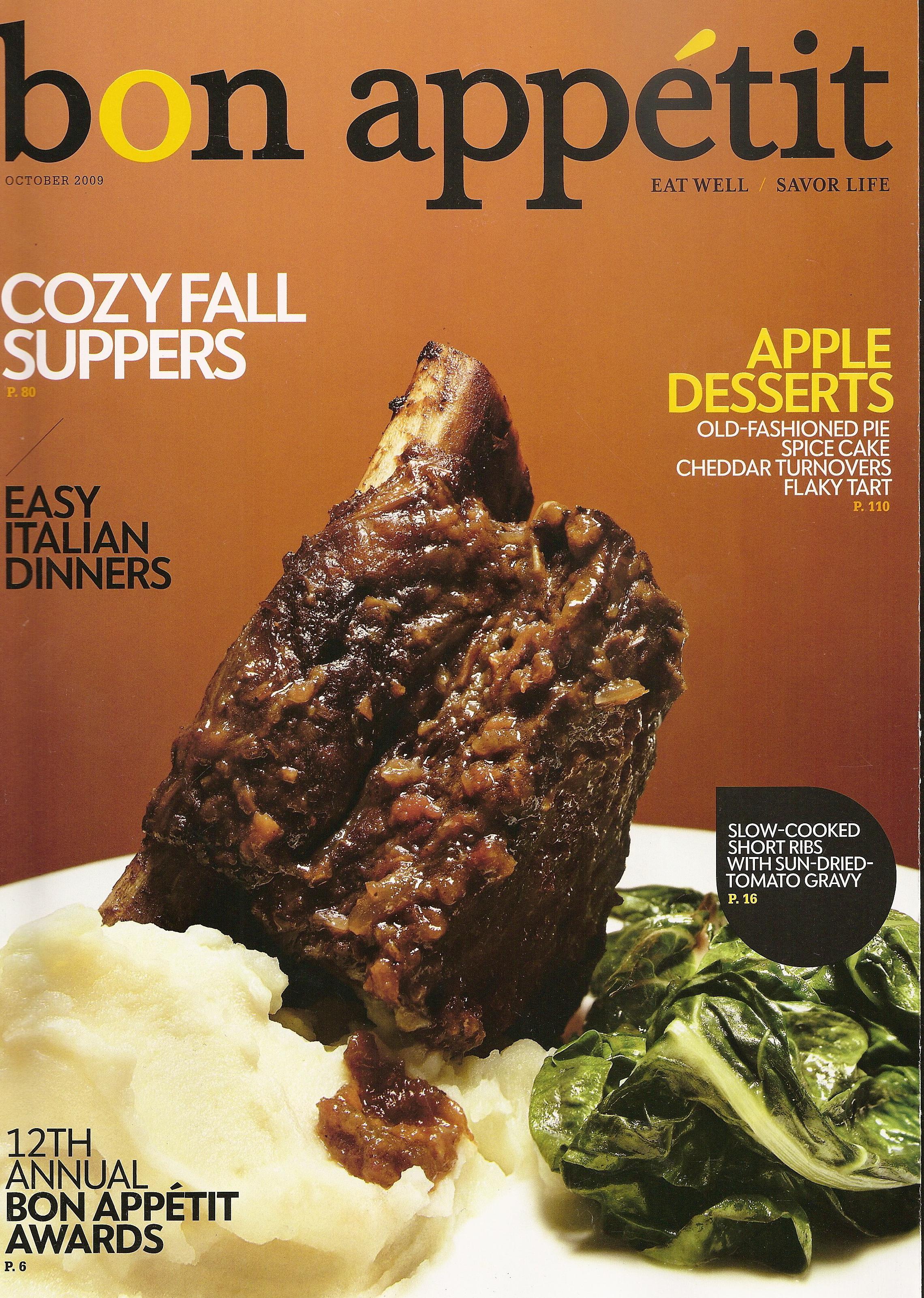 Bon Appetit Cover - Kogi BBQ Taco Truck & Catering