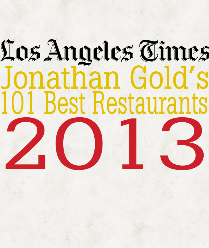 Jonathan Gold's 101 of 2013