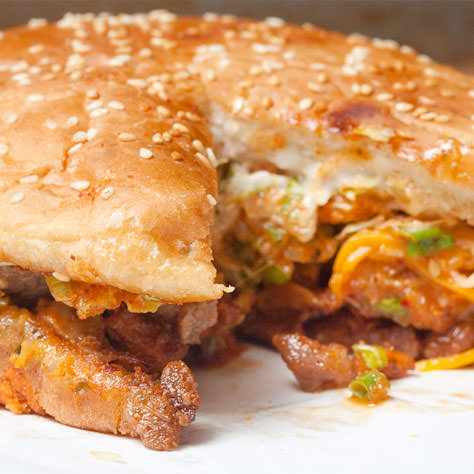 The Pacman Burger