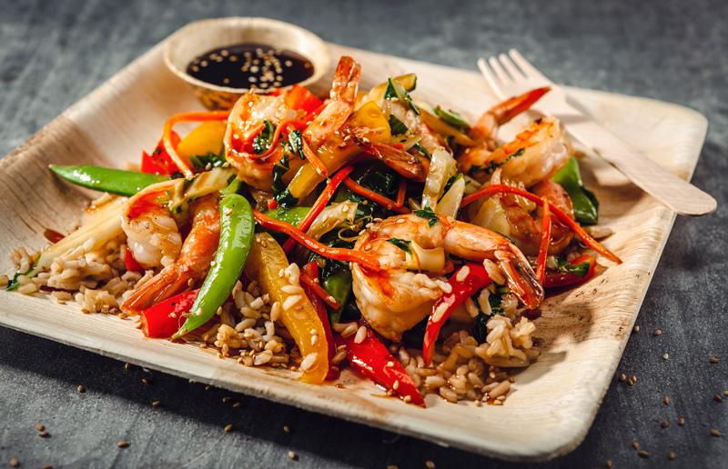 Secret Weapon Shrimp Stir Fry